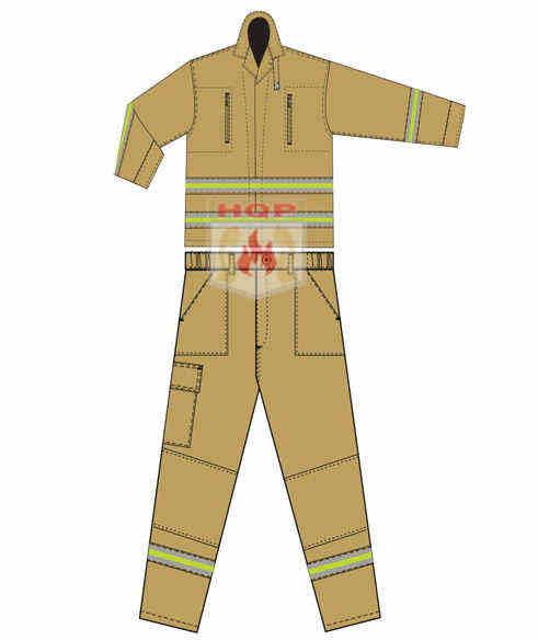 Quần áo chữa cháy thông tu 48